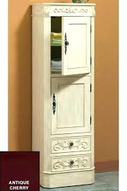 bathroom linen cabinet with glass doors tall linen cabinet with door linen closet view full size linen