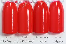 red swatch opi brights 2015 swatches review all lacquered up