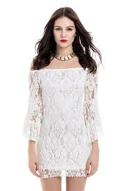 lace dresses the shoulder sleeves ivory lace dresses