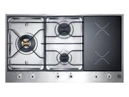 Induction Versus Gas Cooktop Bertazzoni Professional Built In 90 3 Segment 3 Burner Gas And