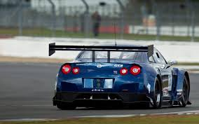 Nissan Gtr Back - nissan gt r gt3 hits the track at dubai 24 hour