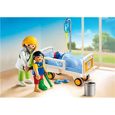 chambre enfant playmobil chambre d enfant avec médecin playmobil 6661 à 10 99 sur pogi
