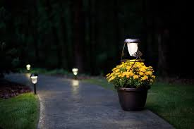 ideas for install solar lights outdoors all home design ideas