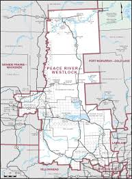 Map Of Rivers Peace River U2013westlock Maps Corner Elections Canada Online