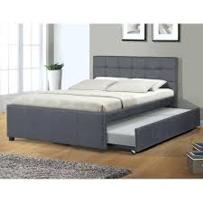 Platform Bed Canada Trundle Bed Linen Platform Beds You Ll With Regard To