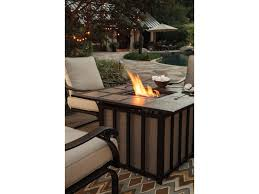Table Patio Heaters by Signature Design By Ashley Wandon Outdoor 5 Piece Fire Pit Table
