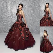 wedding dress maroon wedding dress fashion maroon bridal gowns floor length a line