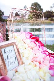 where to buy petals you ve got to see this diy petal toss bar tossed bar