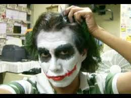 the best joker costume and make up the making youtube