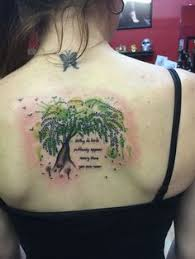 50 mighty tree tattoo designs and ideas willow tree tattoos