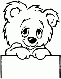 coloring teddy bear pages christmas image trendy colors