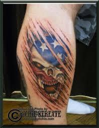 American Flag Tattoos Black And Grey 100 Incredible American Tattoos