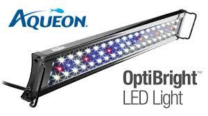 18 aquarium light fixture aqueon optibright led aquarium light fixture youtube
