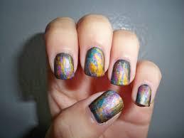 metallic nail art tutorial