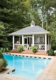 Backyard Pool House by Best 10 Screened Pool Ideas On Pinterest Tropical Pool And Spa