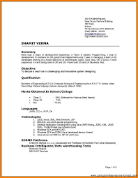 3 Types Of Resumes Different Resume Types Eliolera Com