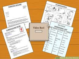 How To Make A Video Resume Script How To Be A Film Director With Pictures Wikihow