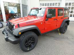 red jeep rubicon red jeep wrangler in ohio for sale used cars on buysellsearch