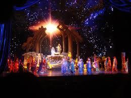 the living nativity during radio city