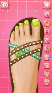 nail art foot spa nail salon games online for girls elsa