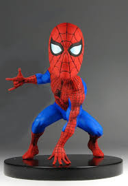 marvel classic head knocker spider man necaonline