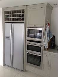 kitchen cabinet accessory freestanding american fridge with solid wood cabinets and