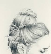 sketches of hair inspiration thursday doodles beautiful hair sketch sally