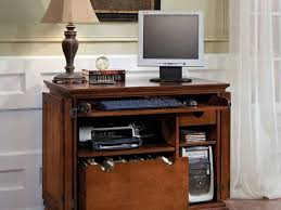 Computer Desk Cherry Wood Office Desk Sauder Carson Forge Corner Computer Washington