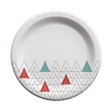 paper plates cheeky 10 paper plates aqua triangles