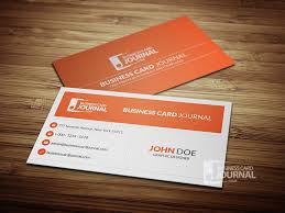 minimal corporate business card template 0013 free business card