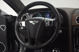 bentley steering wheel 2013 bentley continental gt v8 stock 7229 for sale near