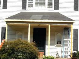 metal porch aluminum metal porch roof patio modern with brick damp