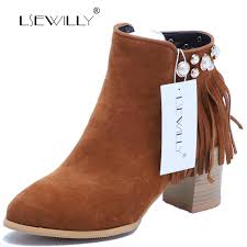 buy high heel tassel boot and get free shipping on aliexpress com