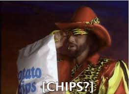 Randy Savage Meme - lol food potato chips wwe wrestling macho man randy savage potato