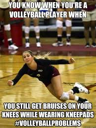 Volleyball Meme - fsu s katie mosher volleyball is a great way to keep the