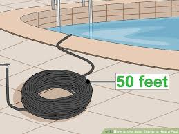 How To Build A Backyard Pool by 3 Ways To Use Solar Energy To Heat A Pool Wikihow