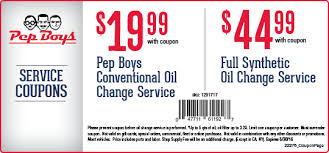 pep boys black friday pep boys oil change 19 99 conventional or 45 full synthetic