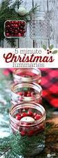 5 minute easy christmas luminaries floating candles diy
