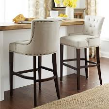 Fabric Dining Chair Low Back Armrests Our Ava Stools Offer A Most Elegant Perch Classic Tailoring