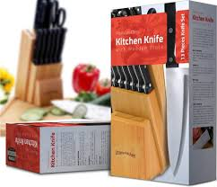 7 cuisinart 15piece stainless steel hollow handle block set buy on knife set with wooden block 13 piece