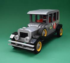 lego bentley wacky races