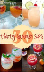 summer cocktail recipes 30 delicious summer cocktails wine u0026 glue