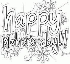 mother s day coloring sheet mothers day coloring pages for many interesting cliparts