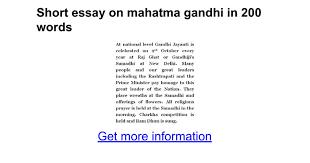 biography of mahatma gandhi summary essay of mahatma gandhi gidiye redformapolitica co
