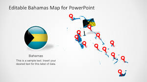 Blank Map Of The Bahamas by Editable Maps For Powerpoint