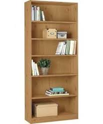 Argos Pine Bookcase Buy Home Maine 2 Drawer Extra Deep Bookcase Oak Effect At Argos