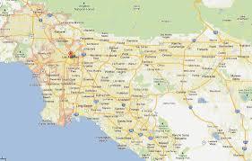 Culver City Map Los Angeles California Map