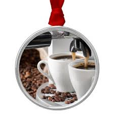 coffee cup tree ornaments