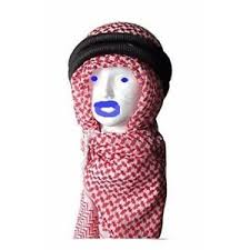 arab shemagh keffiyeh scarf red and white arafat scarf cotton