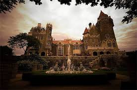 casa loma transformed into a huge haunted house